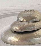 Zen Stone - Set of 3 - HOPE, PEACE & LOVE