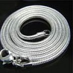 925 2mm silver snake chain